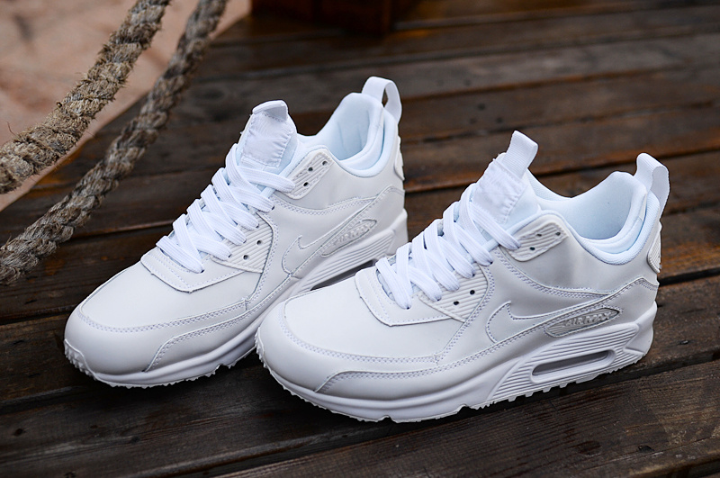 Nike Air Max 90 High All White