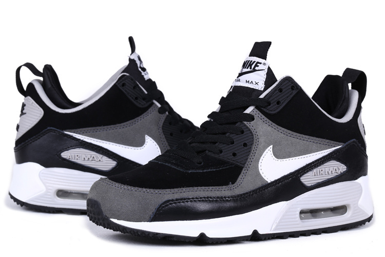 Nike Air Max 90 High Black White