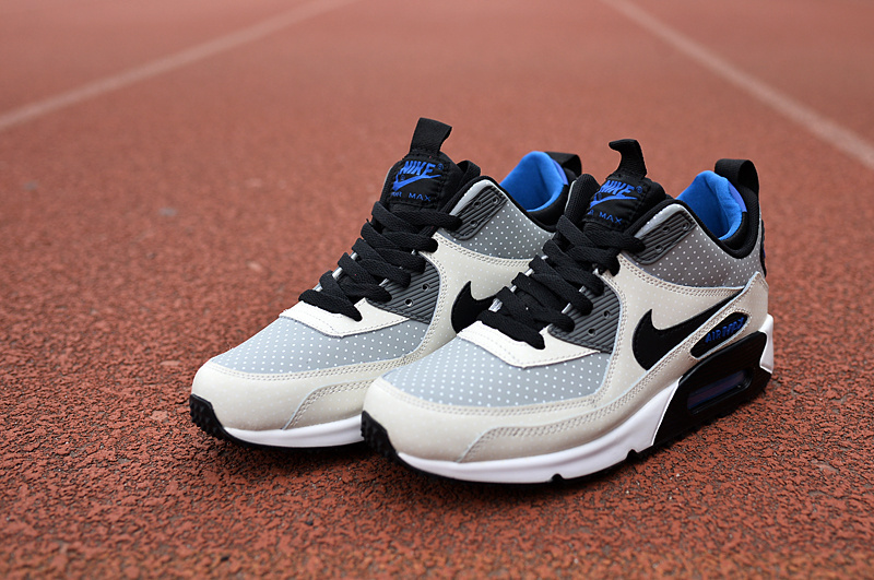 Nike Air Max 90 High Grey Black Blue