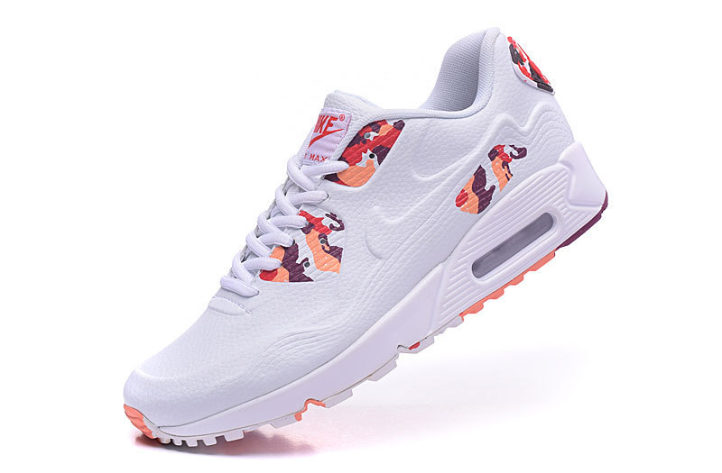 2016 Nike Air Max 90 Leather White Colorful