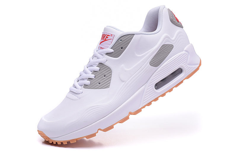 2016 Nike Air Max 90 Leather White Yellow
