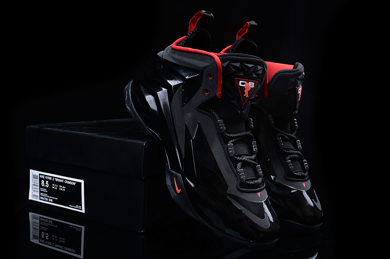 New Nike Chuck Posite Barkley Black Red Shoes