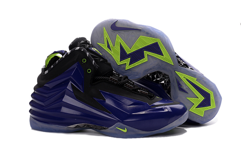 New Nike Chuck Posite Barkley Purple Black Green Shoes