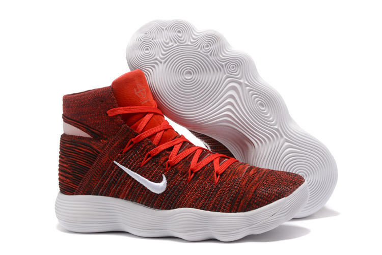 New Nike Hyperdunk 2017 Hot Red White Shoes