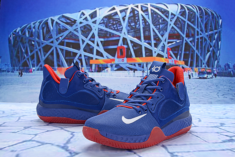 New Nike KD Trey 6 Jade Blue Red Shoes