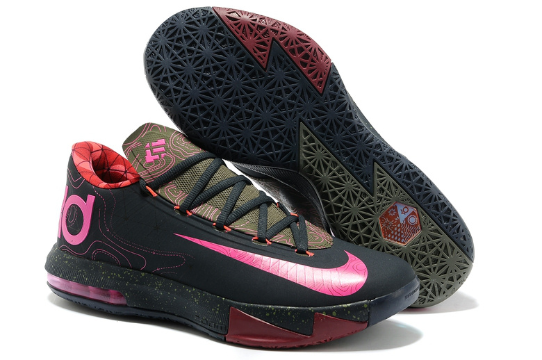 Nike Kevin Durant 6 Low Black Pink