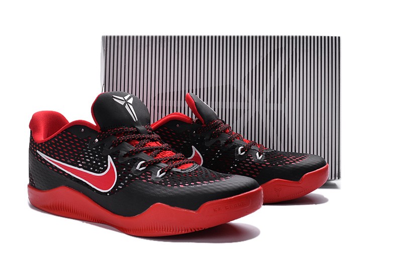New Nike Kobe 11 EM Black Red Shoes