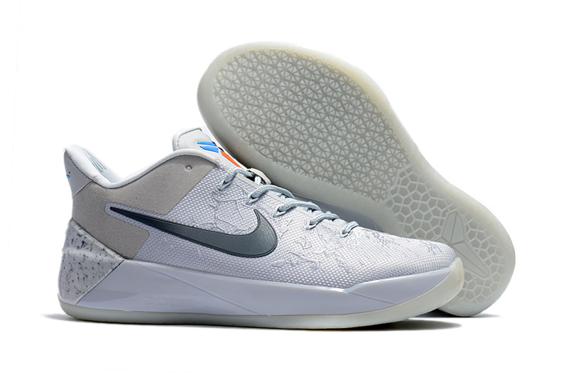New Nike Kobe 12 Grey Black Shoes