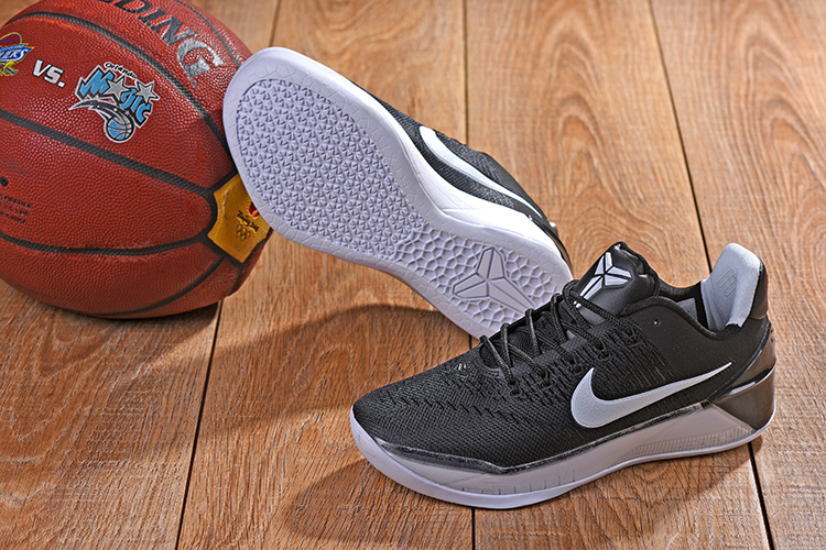 New Nike Kobe AD Black White Shoes