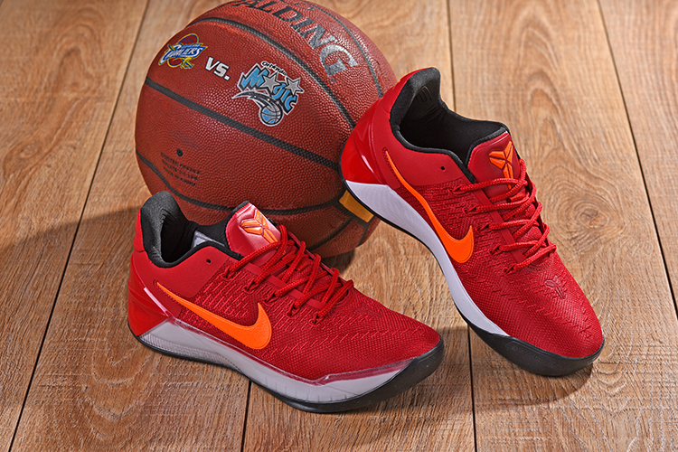 New Nike Kobe AD Orange Red Shoes