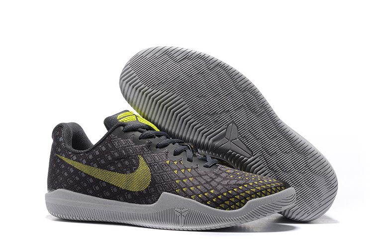 New Nike Kobe Bryant 12 Black Yellow Shoes