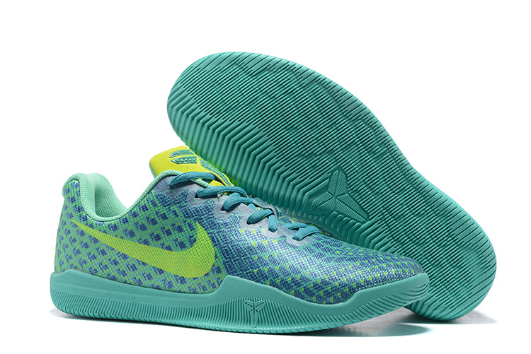 New Nike Kobe Bryant 12 Jade Blue Green Shoes