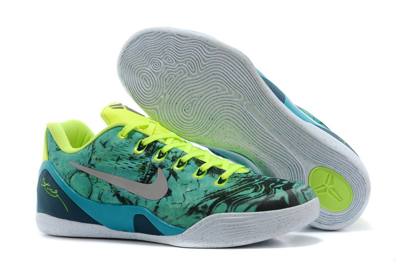 kobe shoes 9 green