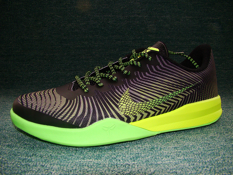 189ff37db7b ... switzerland new nike kobe bryant mentality ii black green volt shoes  388cc 5b5da