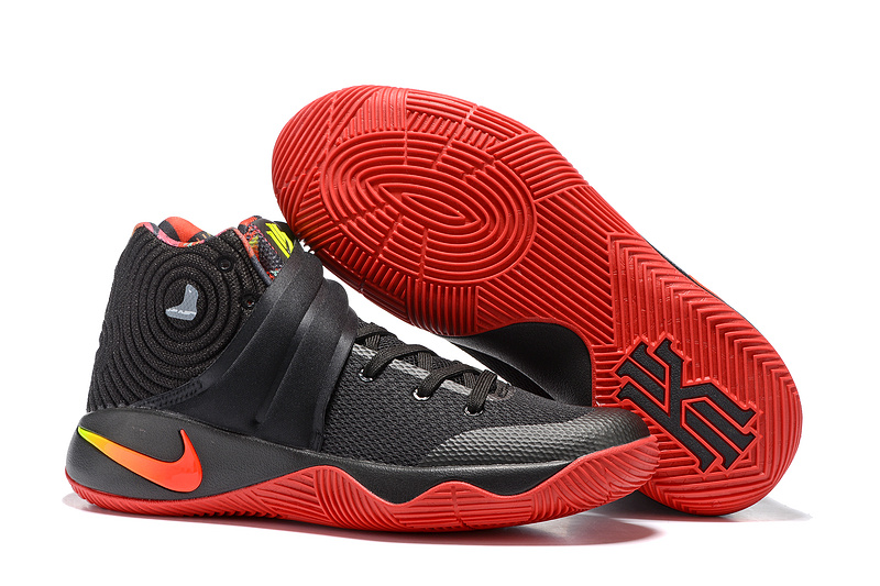 New Nike Kyrie 2 Black Red Shoes