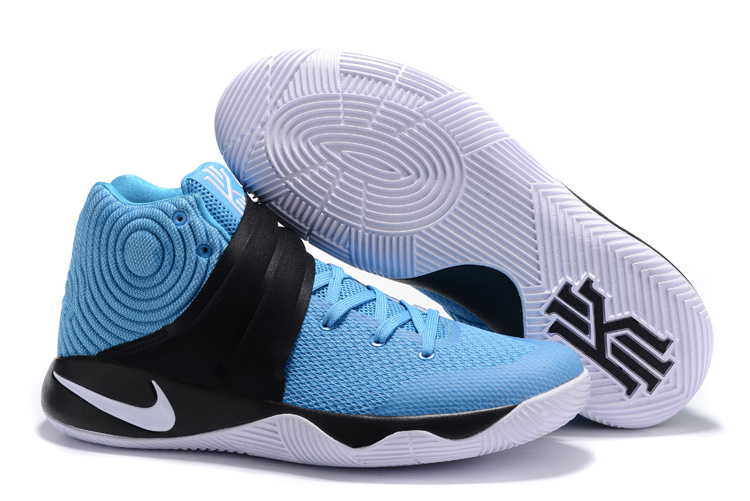 New Nike Kyrie 2 Jad Blue Black White Shoes