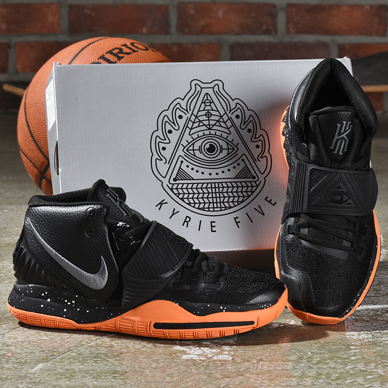 2019 Nike Kyrie 6 Black Orange