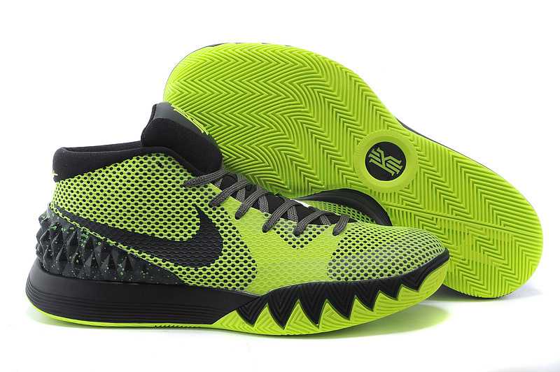 New Nike Kyrie 1 Black Green Shoes
