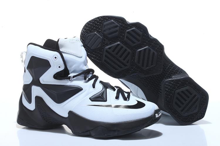 New Nike Lebron James 13 Panda White Black Shoes