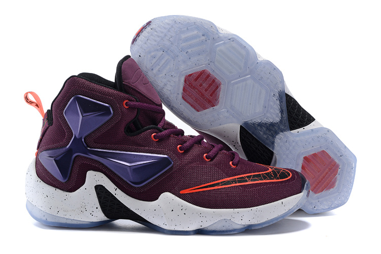 New Nike Lebron James 13 Purple Blue White Shoes  LJ1309  -  90.00 ... a10bebb5d