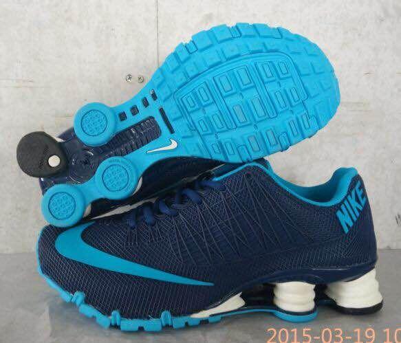 New Nike Shox Turbo Blue Shoes