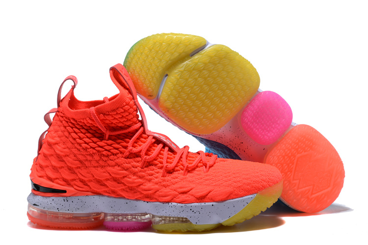 New Nike lebron 15 Icy And Fire Shoes