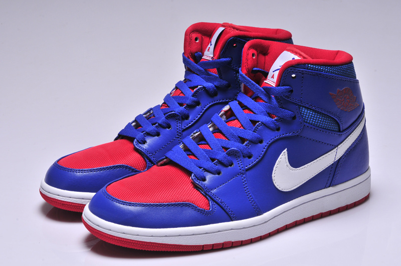red white and blue jordan 1