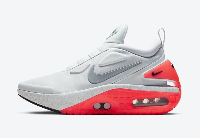 2020 Nike Adapt Auto Max Infrared White Red Basketball Shoes