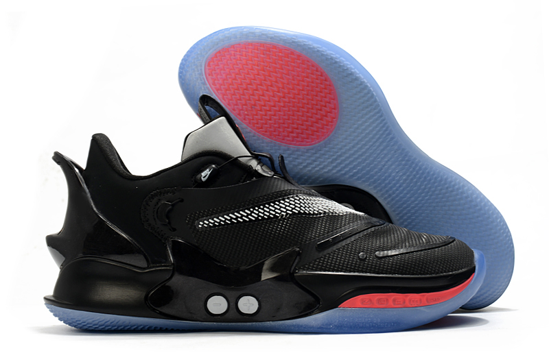 2020 Nike Adapt BB 2.0 Black Red Blue Basketball Shoes