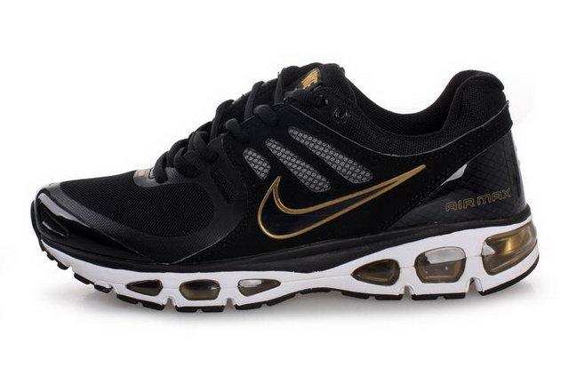 Nike Air Max 2010 For Mens Black Gold Shoes