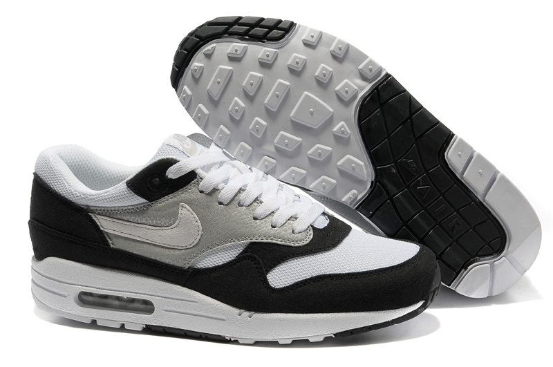 Nike Air Max 87 For Mens Black White Shoes