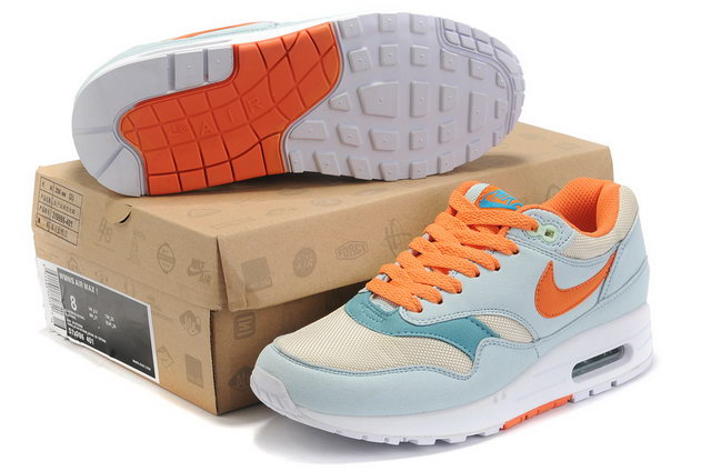 Nike Air Max 87 For Womens Glacier Blue Sail Shoes