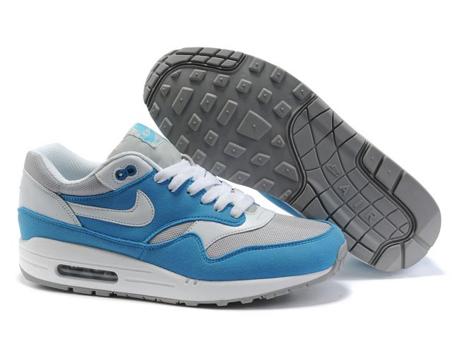 Nike Air Max 87 Womens Royal Blue White Shoes