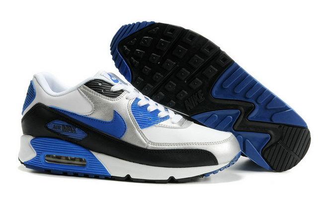 black and blue air max