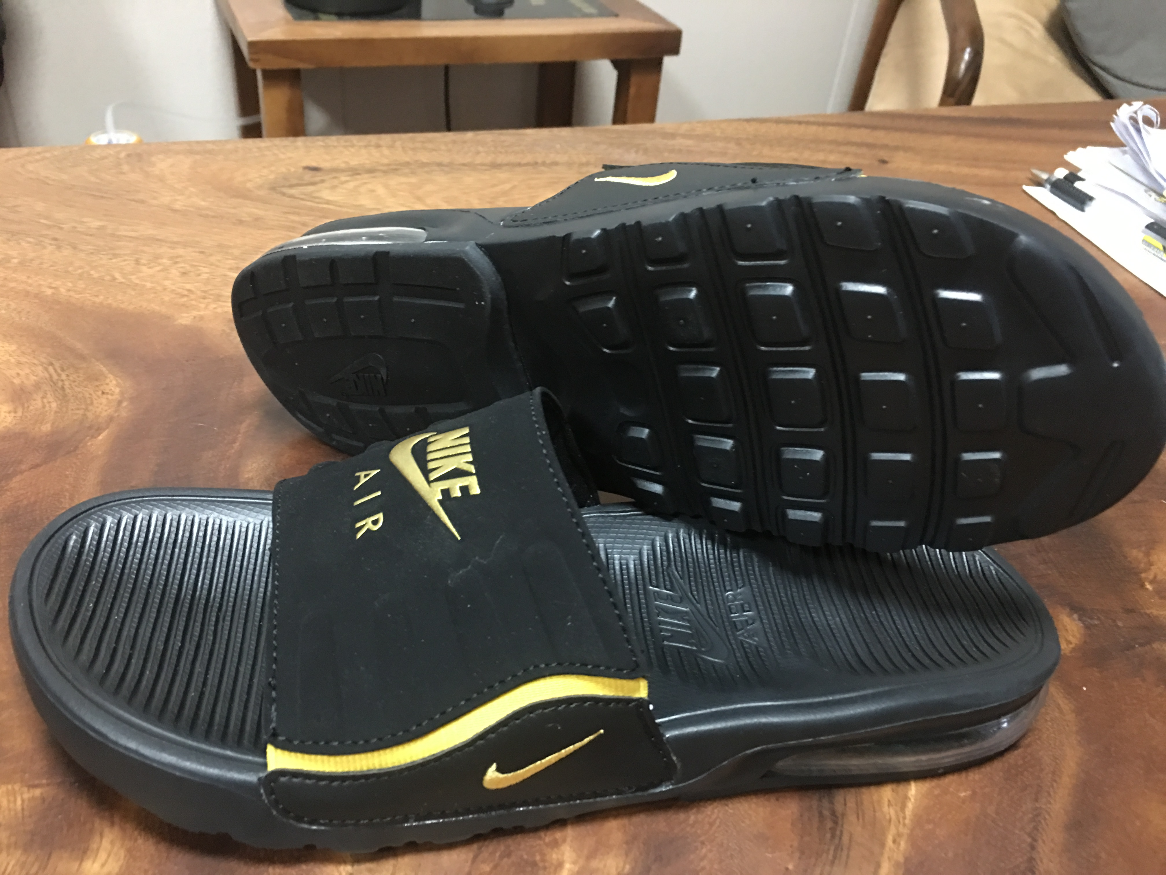 2020 Nike Air Max 95 Hydro Black Gold Sandal