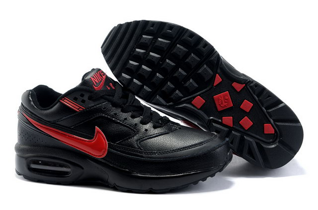 Nike Air Max Classic BW Black Red Mens Shoes