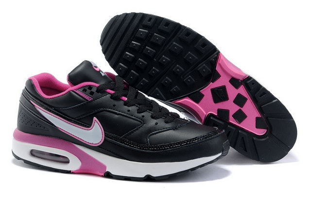 Nike Air Max Classic BW Black White Pink Shoes