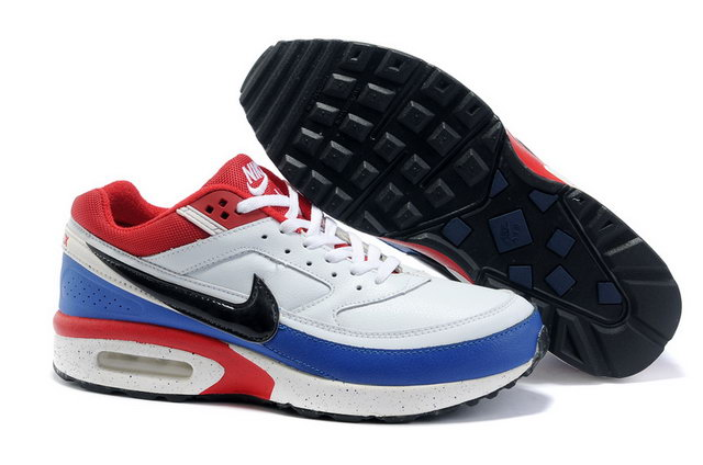 Nike Air Max Classic BW White Black Red Blue
