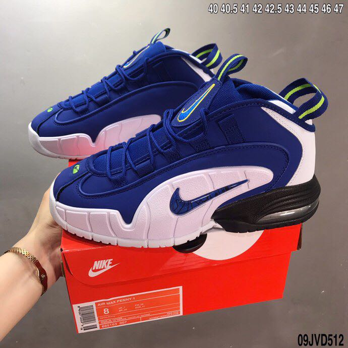 Nike Air Penny Hardaway 1 Blue White
