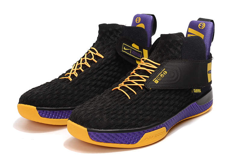 2020 Nike Air Zoom UNVRS Black Yellow Purple