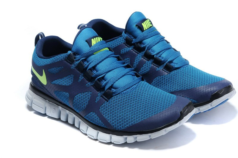 Nike Free 3.0 V3 Mens Shoes dark blue green