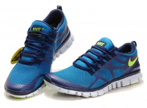 Nike Free 3.0 V3 Womens Shoes black blue green