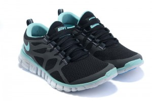 Nike Free 3.0 V3 Womens Shoes black grey blue