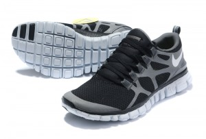 Nike Free 3.0 V3 Womens Shoes black grey