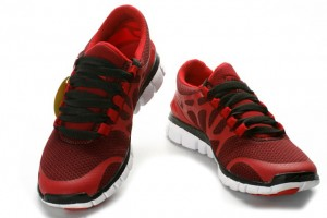 Nike Free 3.0 V3 Womens Shoes black red