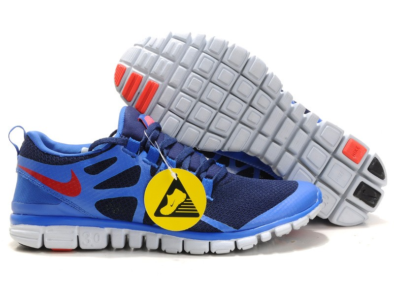 Nike Free 3.0 V3 Womens Shoes blue red