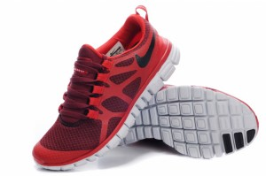 Nike Free 3.0 V3 Womens Shoes dark red