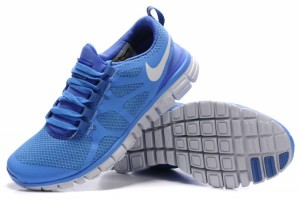 Nike Free 3.0 V3 Womens Shoes white blue