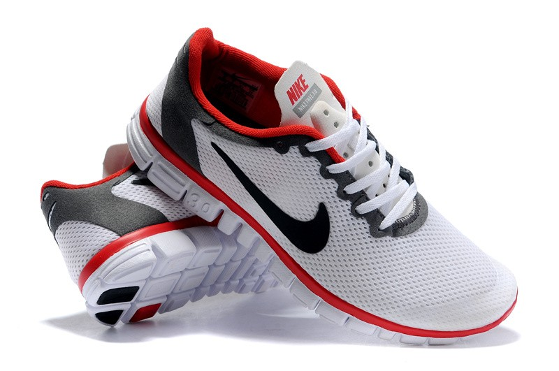 Nike Free 3.0 v2 Womens Shoes black red white