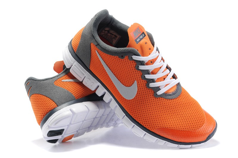 Nike Free 3.0 v2 Womens Shoes orange red